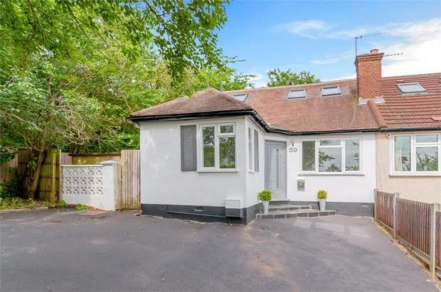 2 Bedrooms Semi Detached Bungalow for sale in Grants Close, Mill Hill, NW7
