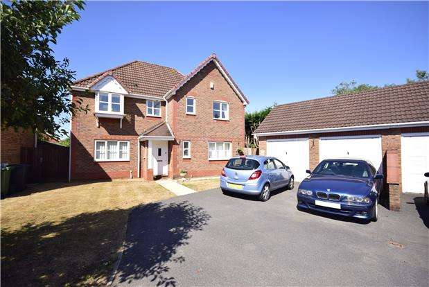 4 Bedrooms Detached House for sale in Heathfields, Downend, BRISTOL, BS16 6HS