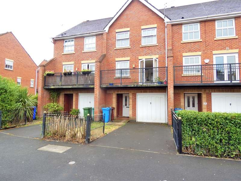 4 Bedrooms Town House for sale in Brantingham Road, Manchester, Greater Manchester, M16