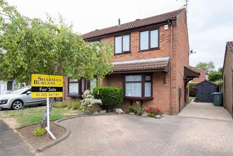 2 Bedrooms Semi Detached House for sale in Fox Close, Boston, Lincolnshire