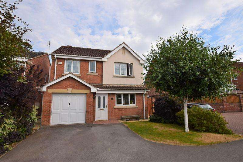 4 Bedrooms Detached House for sale in Kentmere Way, Staveley
