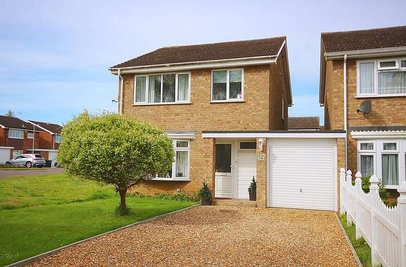4 Bedrooms Detached House for sale in Flexmore Way, Langford, SG18