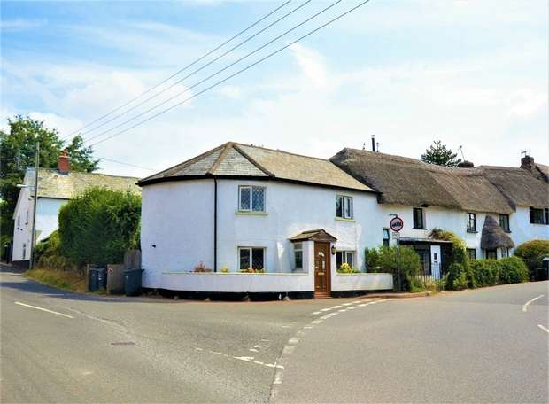 2 Bedrooms End Of Terrace House for sale in Station Road, Broadclyst, EXETER, Devon