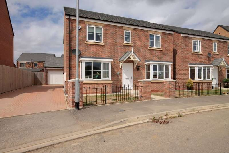 4 Bedrooms Detached House for sale in St. James Crescent, Newfield, Chester Le Street, DH2