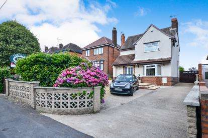3 Bedrooms Detached House for sale in Chesterfield Road, Tibshelf, Alfreton, Derbyshire