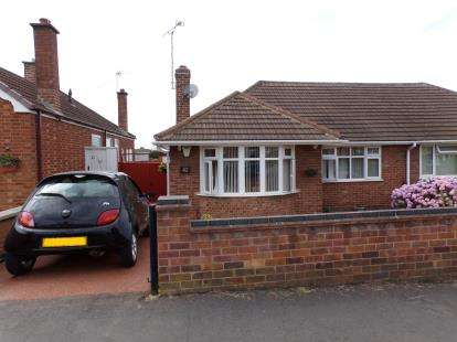 2 Bedrooms Bungalow for sale in Festival Avenue, Thurmaston, Leicester, Leicestershire