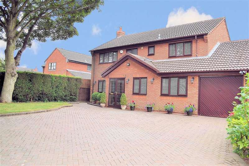 4 Bedrooms Detached House for sale in Highfield Gardens,off Boley Cottage Lane, Lichfield