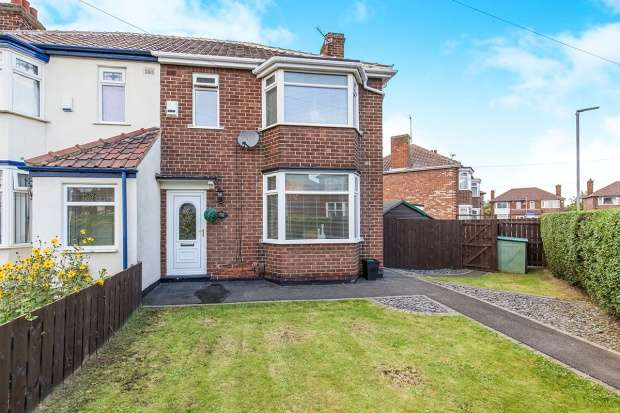 3 Bedrooms Semi Detached House for sale in Endsleigh Drive, Middlesbrough, Cleveland, TS5 4RQ