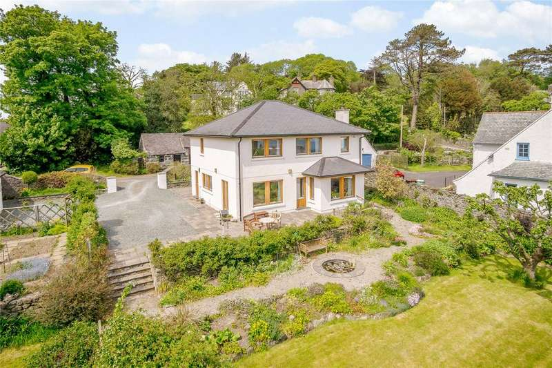 4 Bedrooms Detached House for sale in Lon Ednyfed, Criccieth, Gwynedd