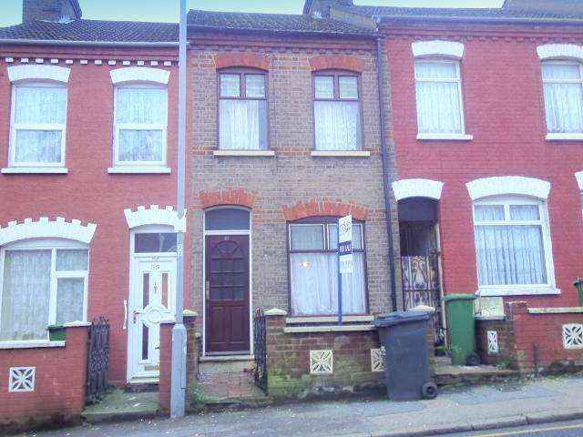 2 Bedrooms Terraced House for sale in Dallow Road, Luton, Bedfordshire, LU1 1NL