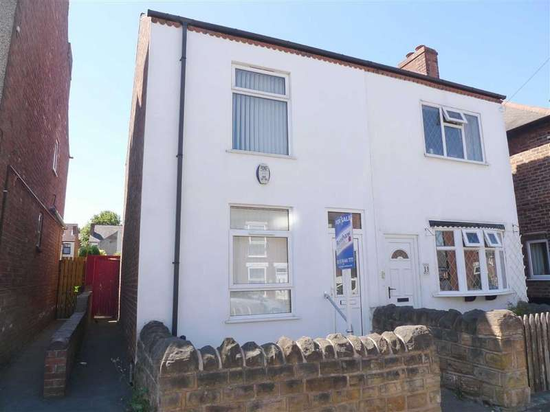 3 Bedrooms Semi Detached House for sale in Doris Road, Ilkeston, Derbyshire