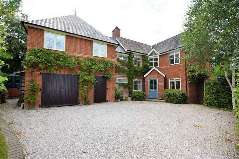 4 Bedrooms Detached House for sale in The Old Garden, Chirbury Road, Chirbury Road, Montgomery, Powys, SY15