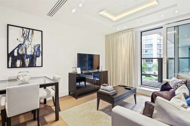 1 Bedroom Flat for sale in Trinity House, 375 Kensington High Street, London