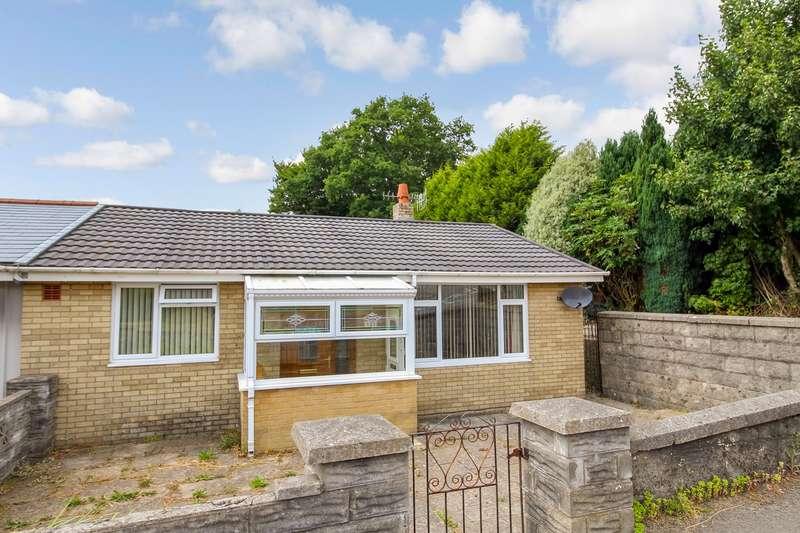 2 Bedrooms Semi Detached Bungalow for sale in Old Pant Road, Newbridge, Newport, NP11