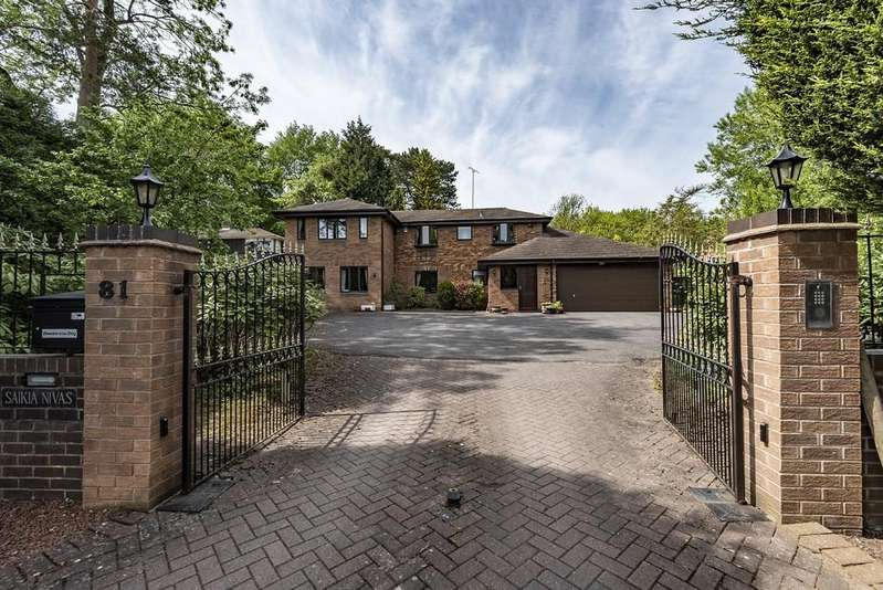6 Bedrooms Detached House for sale in Lovelace Avenue, Solihull