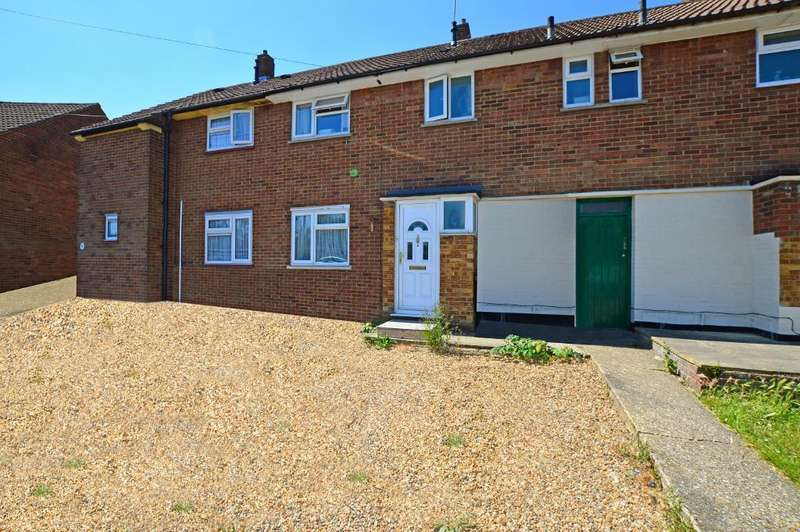 3 Bedrooms Terraced House for sale in Wigmore Lane, Stopsley, Luton, LU2 8AD