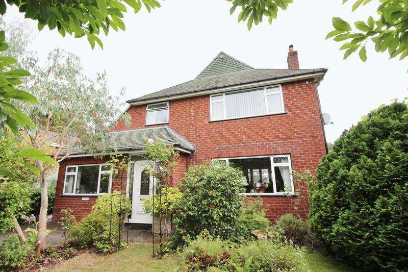 3 Bedrooms Detached House for sale in Gardden View, Ruabon, Wrexham