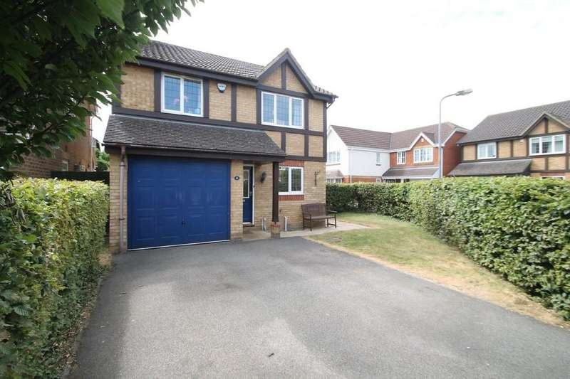 4 Bedrooms Detached House for sale in Lawrence Close, Aylesbury