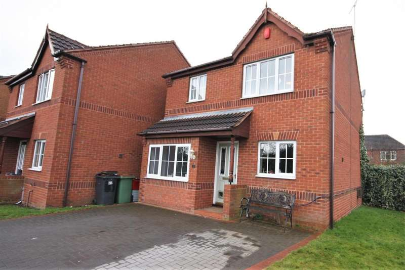 3 Bedrooms Property for sale in Belcher Close, Heather, Coalville