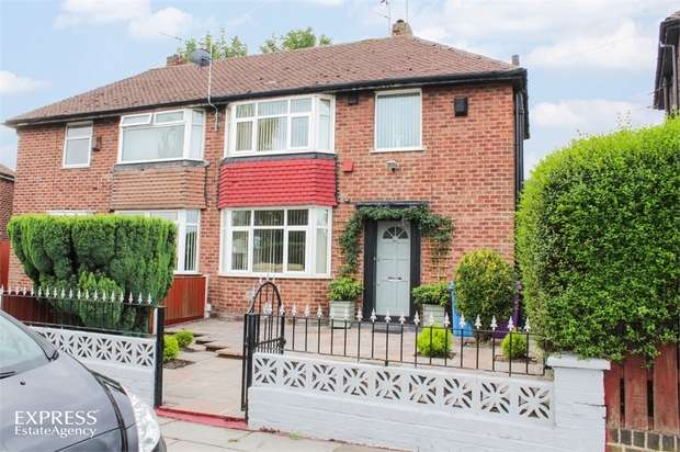 3 Bedrooms Semi Detached House for sale in Bowring Park Road, Liverpool, Merseyside