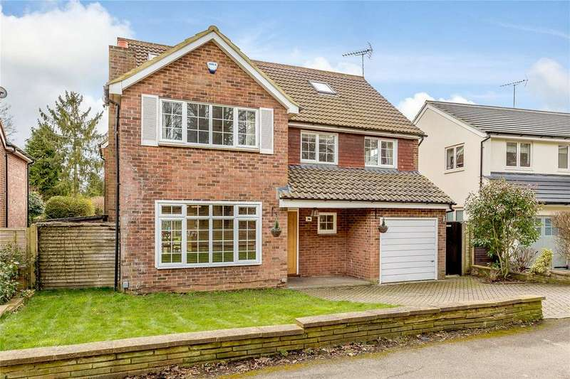 5 Bedrooms Detached House for sale in Wheathampstead Road, Harpenden, Hertfordshire