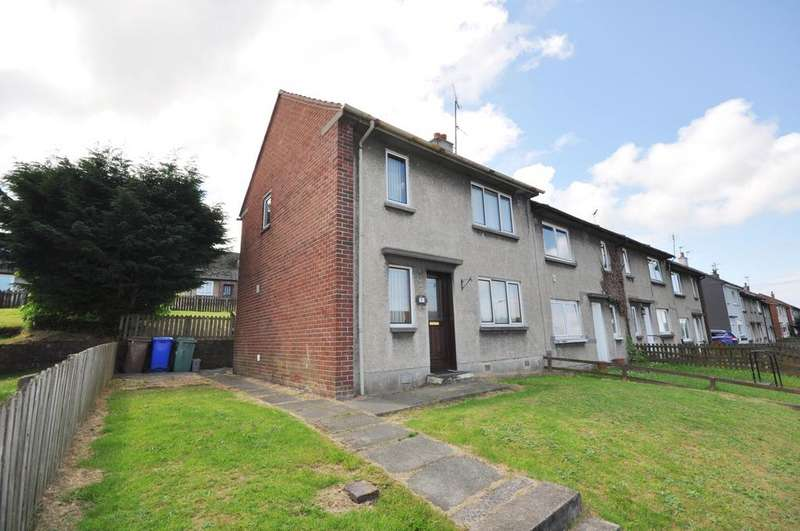 2 Bedrooms End Of Terrace House for sale in 9 Church Crescent, Dailly KA26