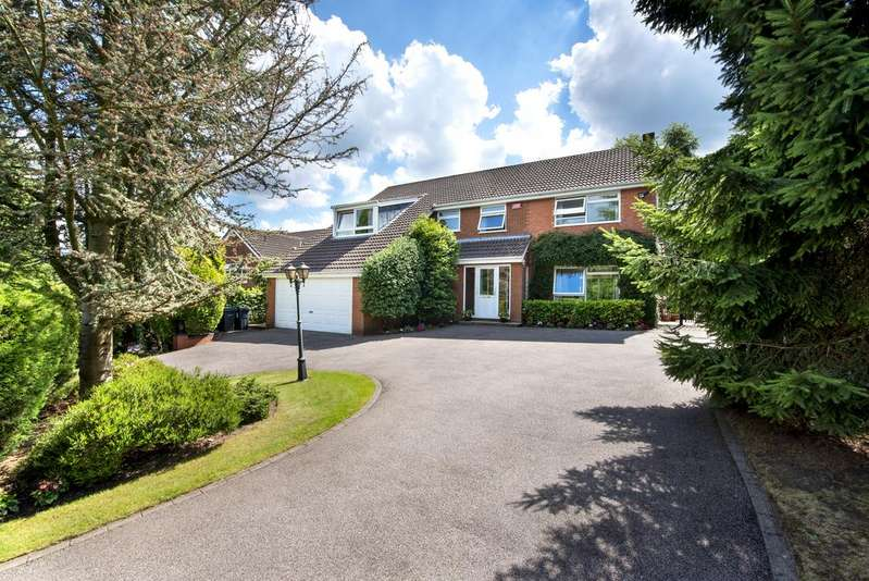 5 Bedrooms Detached House for sale in Anderton Close, Four Oaks