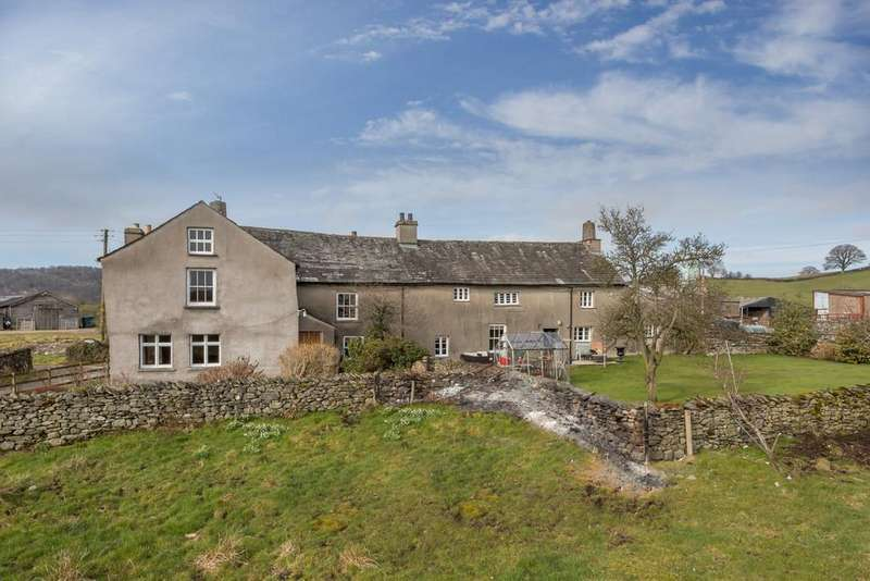 6 Bedrooms Farm House Character Property for sale in Fallen Yew, Underbarrow, Kendal, Cumbria, LA8 8HQ