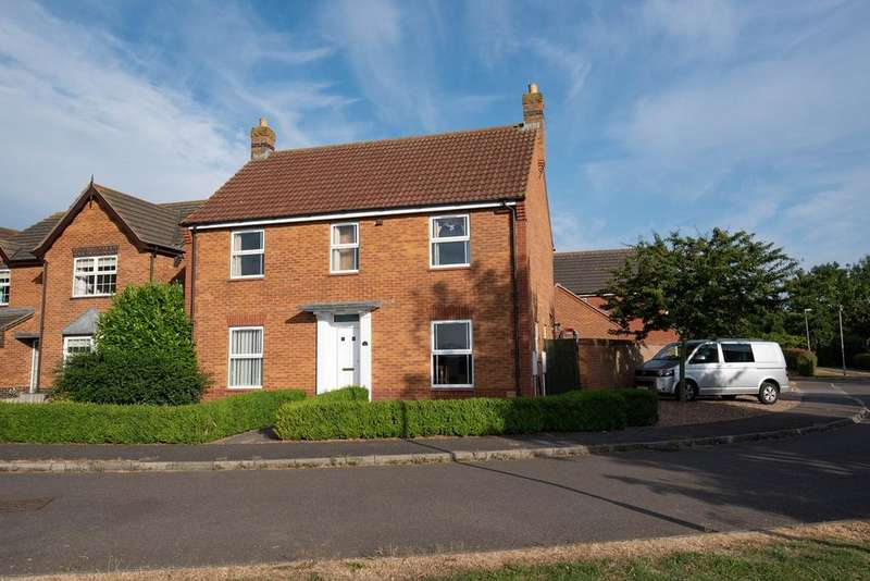 4 Bedrooms Detached House for sale in Sorrel Drive, Spalding, PE11