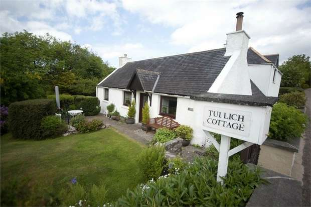 4 Bedrooms Detached House for sale in Tullich Cottage, Dufftown, Keith, Moray
