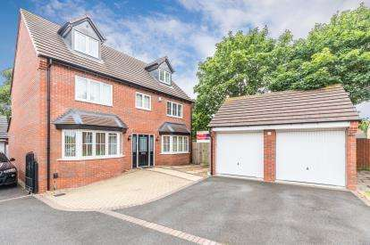 5 Bedrooms Detached House for sale in Limestone Close, Aldridge, Walsall, West Midlands