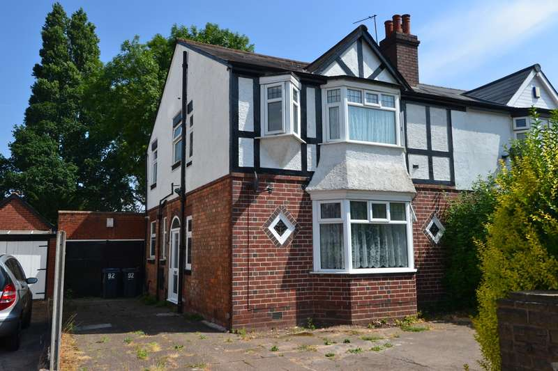 3 Bedrooms Semi Detached House for sale in Woodlands Road, Sparkhill, Birmingham, B11