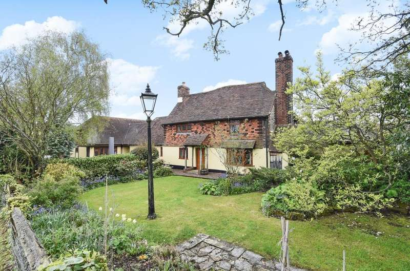 5 Bedrooms Detached House for sale in Snag Lane, Cudham, Sevenoaks, Kent, TN14 7RG