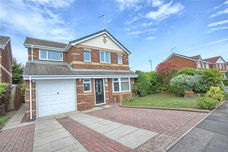 4 Bedrooms Detached House for sale in Cormorant Drive, Redcar
