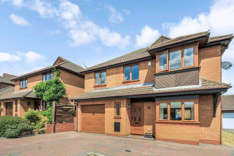 5 Bedrooms Detached House for sale in Charndon Close, Luton