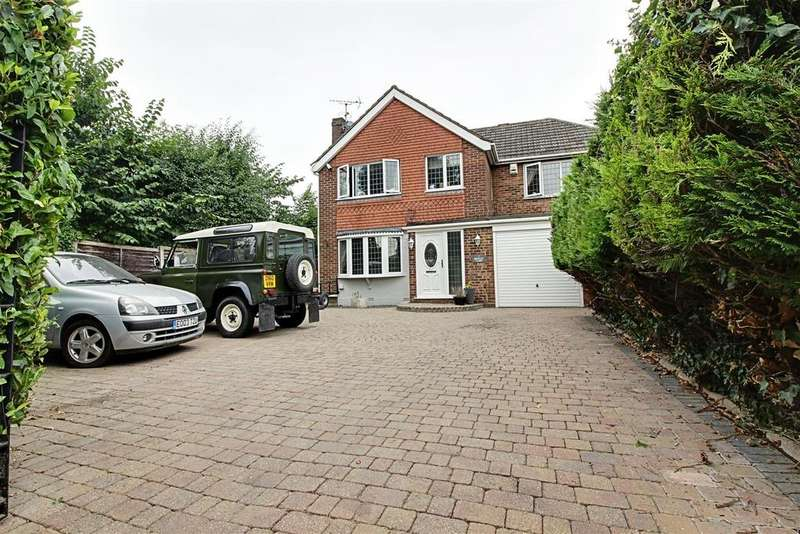 4 Bedrooms Detached House for sale in Brinley Close, Cheshunt