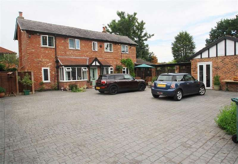 4 Bedrooms Detached House for sale in Sagars Road, Handforth
