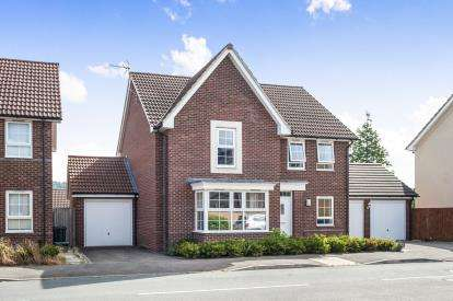 4 Bedrooms Detached House for sale in Brize Avenue Kingsway, Quedgeley, Gloucester, Gloucestershire