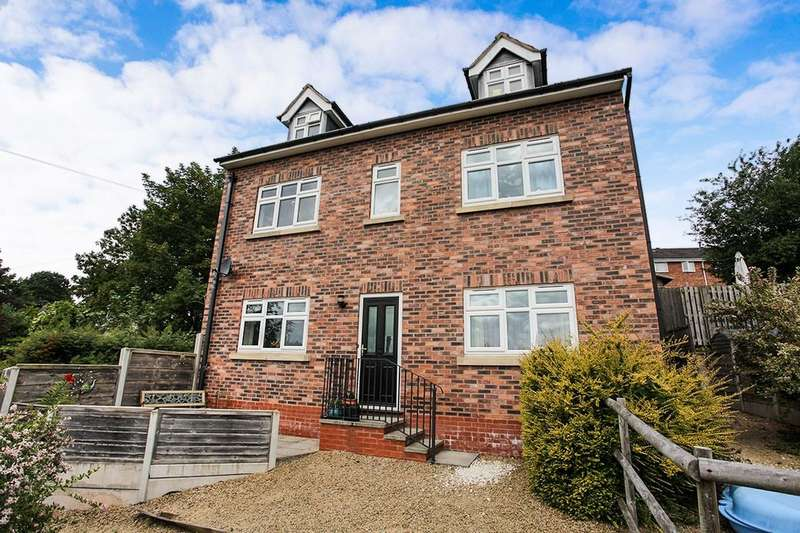 3 Bedrooms Detached House for sale in Castle Bank, Northwich, CW8