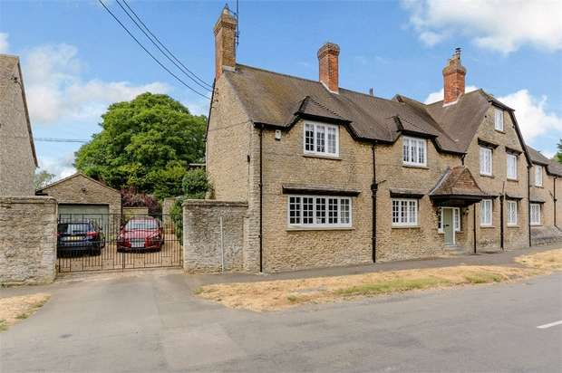 4 Bedrooms Semi Detached House for sale in Bicester Road, Stratton Audley, Bicester, Oxfordshire