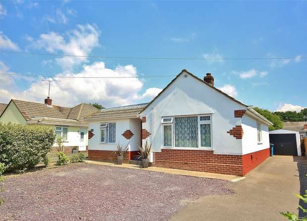 3 Bedrooms Detached Bungalow for sale in Blandford Road, Upton, POOLE, Dorset