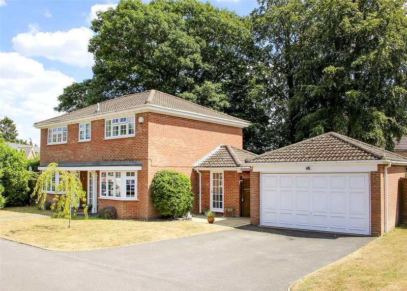 4 Bedrooms Detached House for sale in Cherry Tree Drive, Bracknell, Berkshire, RG12