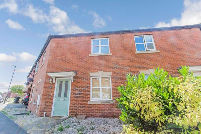3 Bedrooms Semi Detached House for sale in Kepwick Road, Hamilton, Leicester, LE5