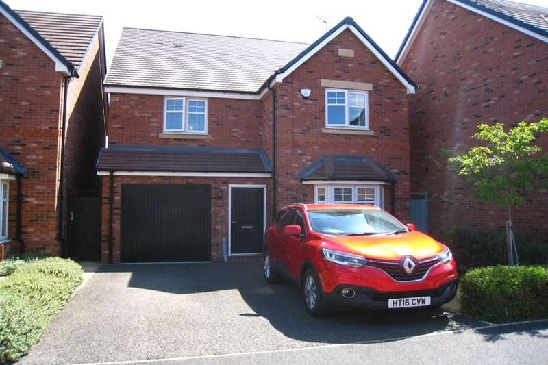 4 Bedrooms Detached House for sale in Bellerose Close, Bannerbrook, Coventry, CV4