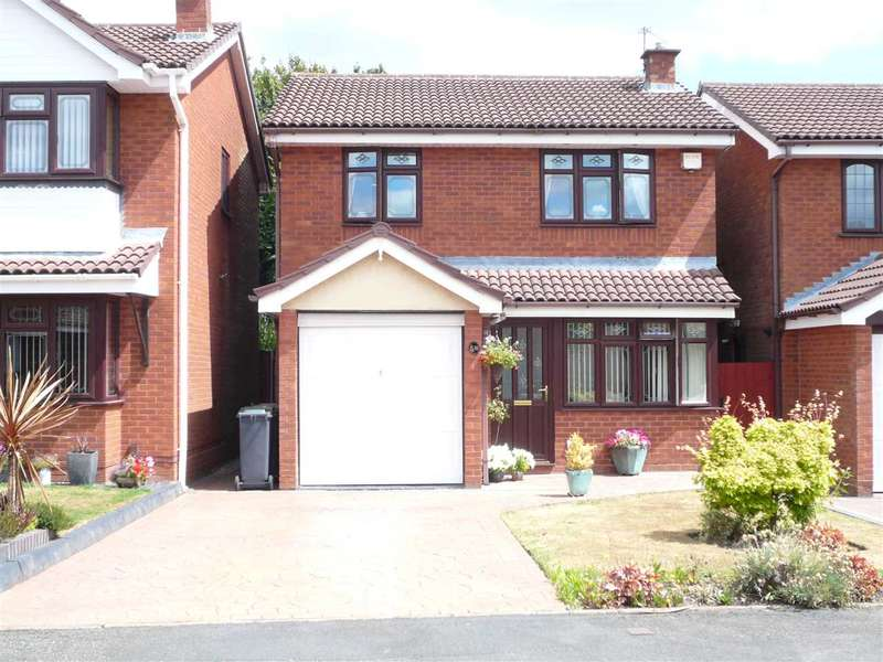 3 Bedrooms Detached House for sale in Lochalsh Grove, Willenhall, Willenhall