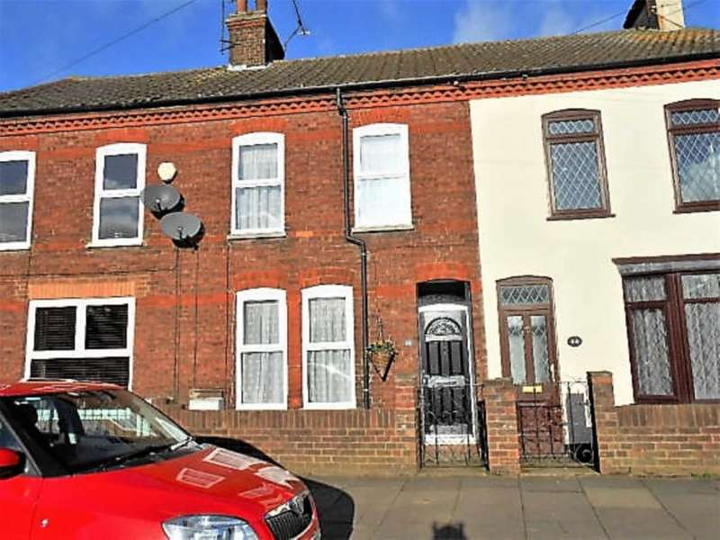 2 Bedrooms Terraced House for sale in St Thomas`s Road, Stopsley, Luton, LU2 7UY