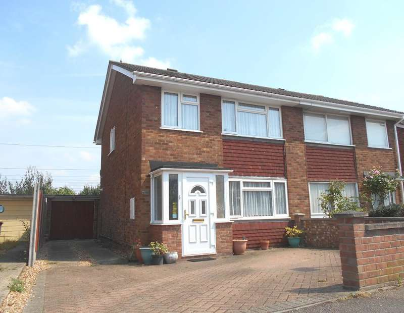 3 Bedrooms Semi Detached House for sale in Eastdale Close, Kempston, Bedfordshire, MK42 8LY