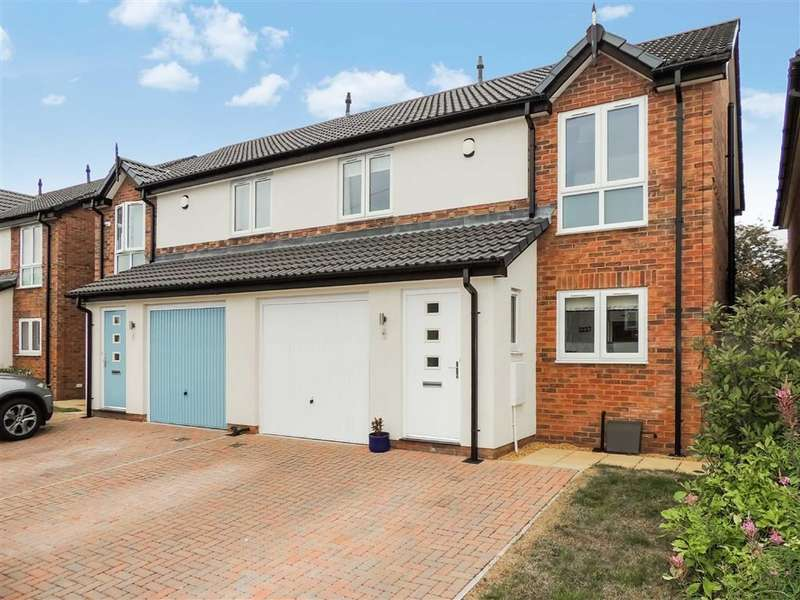 3 Bedrooms Semi Detached House for sale in Beacon Road, Romiley, Stockport
