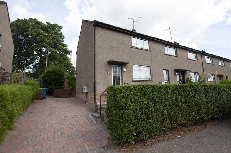 2 Bedrooms End Of Terrace House for sale in 54 Johnston Crescent, Tillicoultry, fk13 6pw, UK