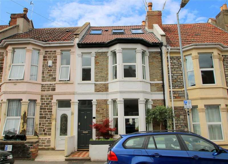 4 Bedrooms Terraced House for sale in Exeter Road, Southville, Bristol, BS3